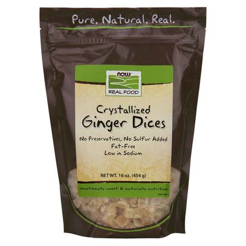 Crystallized Ginger Dices