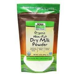 Now Foods Non-Fat Dry Milk Powder Organic