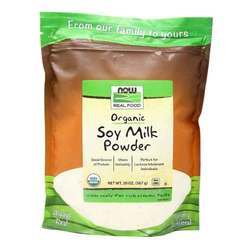 Now Foods Organic Non-GMO Instant Soy Milk Powder