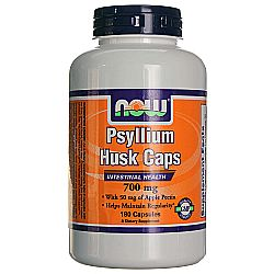 Now Foods Psyllium Husk 750 mg plus Apple Pectin