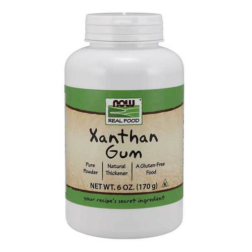 Now Foods Xanthan Gum Powder - 6 oz - 34534_front.jpg