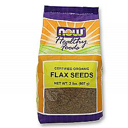 Now Foods Organic Flax Seeds