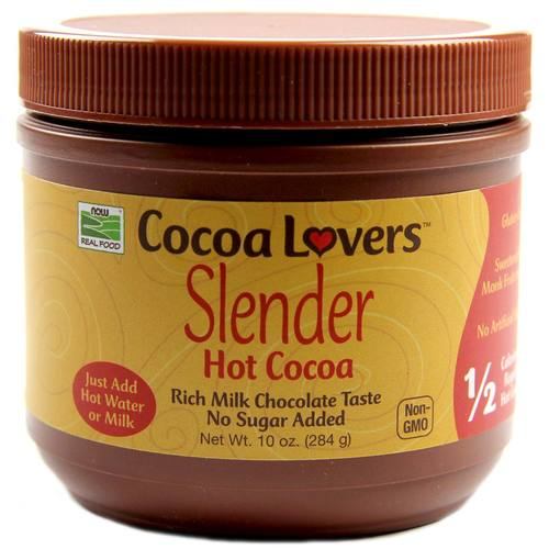 Now Foods Cacao caliente con el Better Stevia 10 oz - 34566_1.jpg