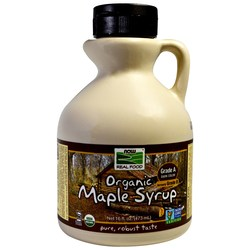 Now Foods Organic Maple Syrup - Grade A (Dark Color)