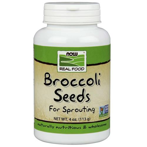 Now Foods Broccoli Seeds  - 4 oz