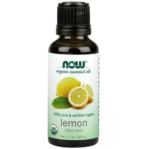 Now Foods 100% Pure Essential Oil Limón - Organic - 1 fl oz