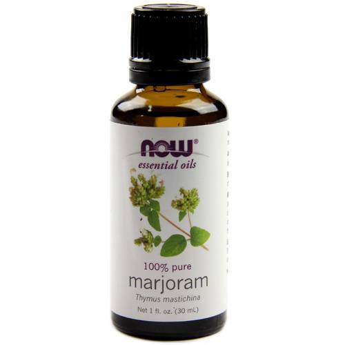 Now Foods 100% Pure Essential Oil Mejorana - 1 fl oz - 34689_1.jpg