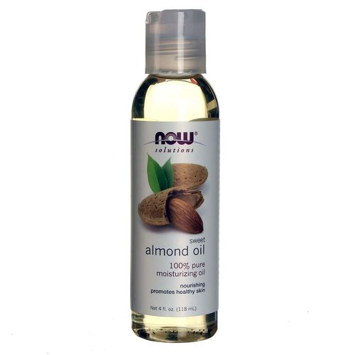Now Foods Sweet Almond Oil - 4 fl oz - 20120706_539.jpg