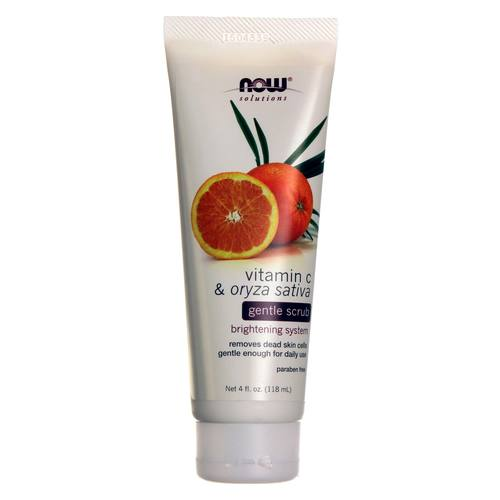 Vitamin C and Oryza Sativa Gentle Scrub