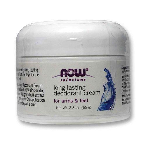 Now Foods Long Lasting Deodorant Cream 2 3 Oz