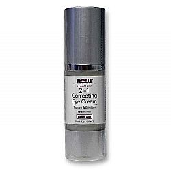 Now Foods 2 in 1 Correcting Eye Cream