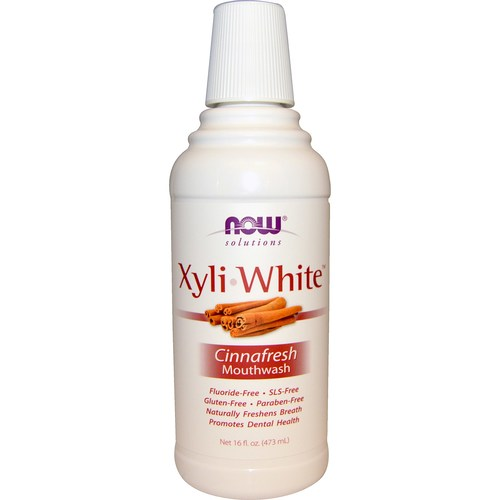 Now Foods XyliWhite Mouthwash Cinnafresh - 16 fl oz - 34777_01.jpg