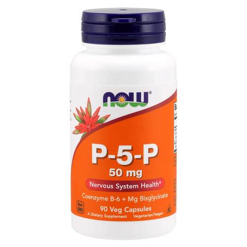 Now Foods P-5-P 50 mg  - 90 Veg Capsules - 348923_front.jpg