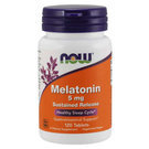 Now Foods Melatonin 5 mg Sustained Release