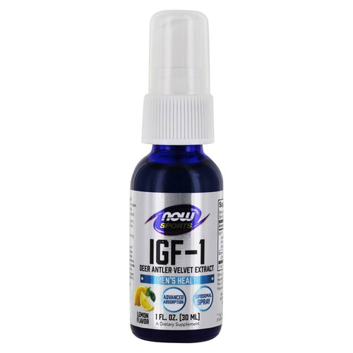Now Foods IGF-1 Plus Liposomal Spray Lemon - 1 oz - 3639_front.jpg