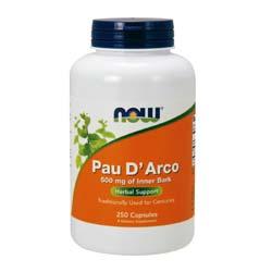 Now Foods Pau D' Arco 500 mg