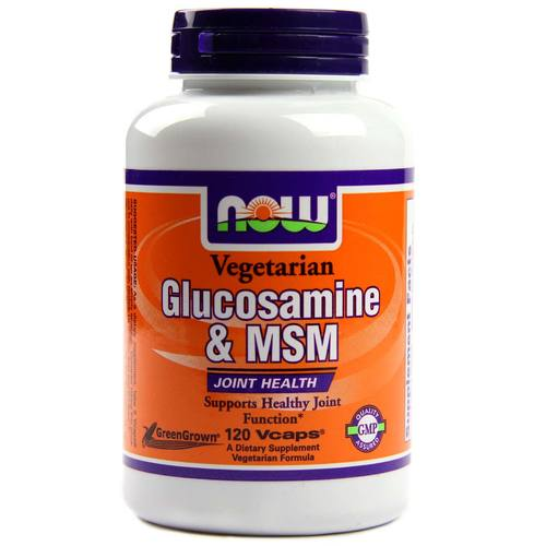 Vegetarian Glucosamine and MSM