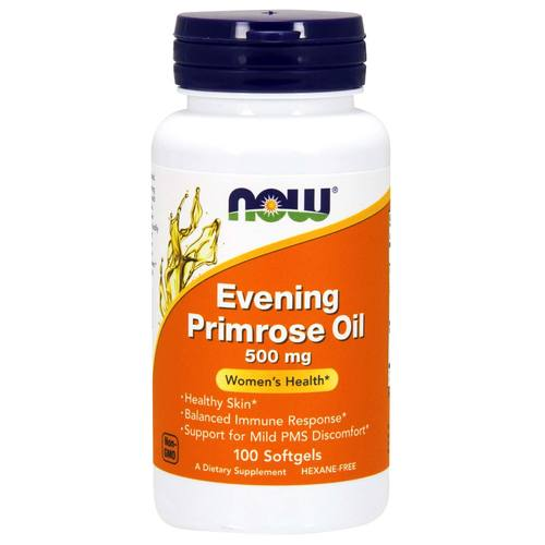 Now Foods Evening Primrose Oil - 500 mg - 100 Softgels