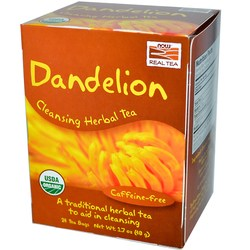 Now Foods Dandelion Cleansing Herbal Tea