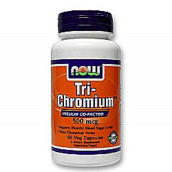 Now Foods Tri-Chromium 500 mcg plus Cinnamon