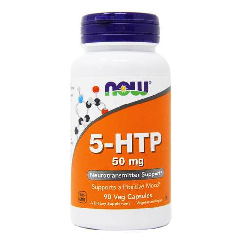 5-HTP 50 mg Now Foods 90 Cápsulas Vegetarianas - 585_front2020.jpg