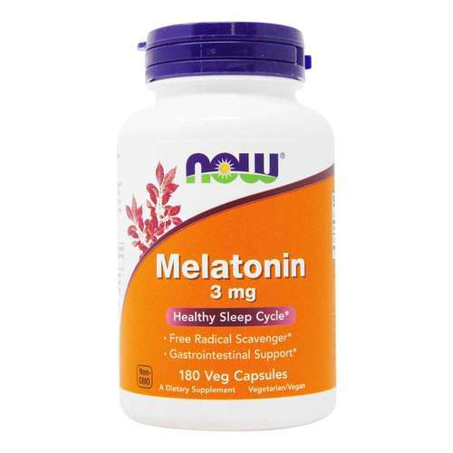 Now Foods Melatonina 3 mg - 180 Cápsulas Veg - 6367_front2020.jpg