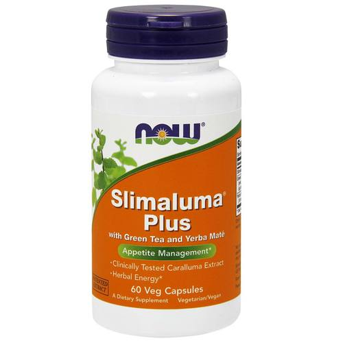 Now Foods Slimaluma Plus 250 mg - 60 VCapsules - 6566.jpg