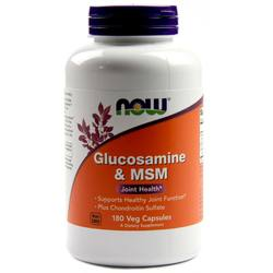 Now Foods Glucosamine and MSM