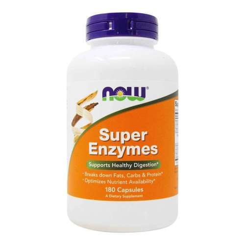 Now Foods Super Enzyme - 180 Kapseln - 6836_front2020.jpg