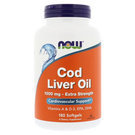 Now Foods Extra Strength Cod Liver Oil
