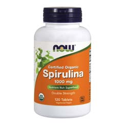 Now Foods Organic Spirulina
