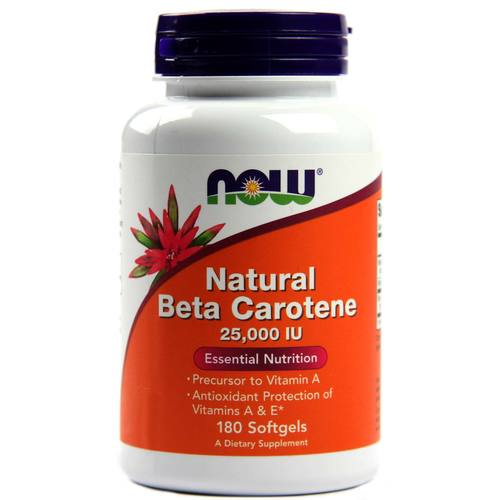 Natural Beta-Carotene 25,000 IU