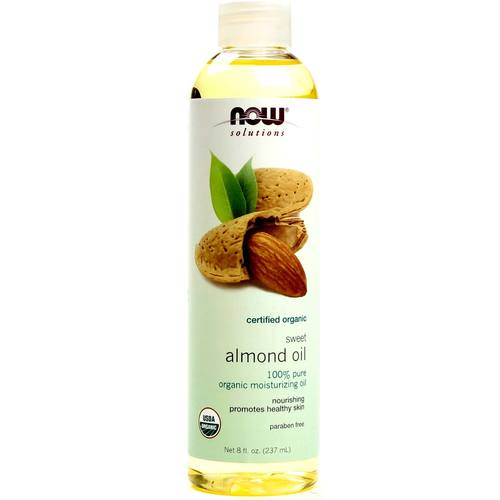 Now Foods Organic Almond Oil  - 8 oz - 733739076588_1.jpg