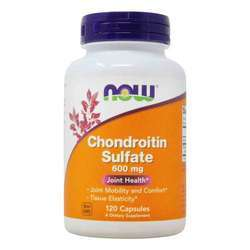 Now Foods Chondroitin Sulfate 600 mg