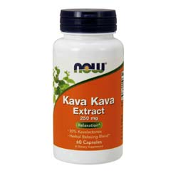 Now Foods Kava Kava Extract 250 mg
