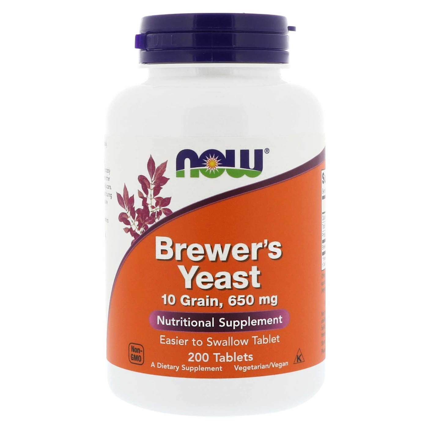 Brewers Yeast - 650 mg - 200 Tablets