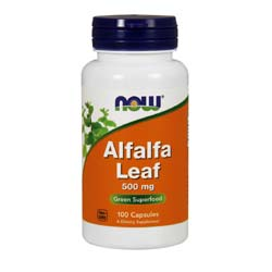 Now Foods Alfalfa Leaf