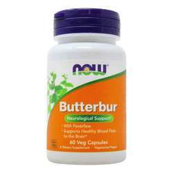 Now Foods Butterbur 75 mg