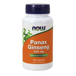 Now Foods Panax Ginseng 500 mg