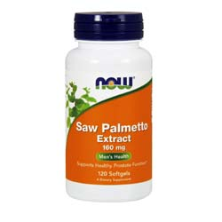 Now Foods Saw Palmetto Double Strength 160 mg
