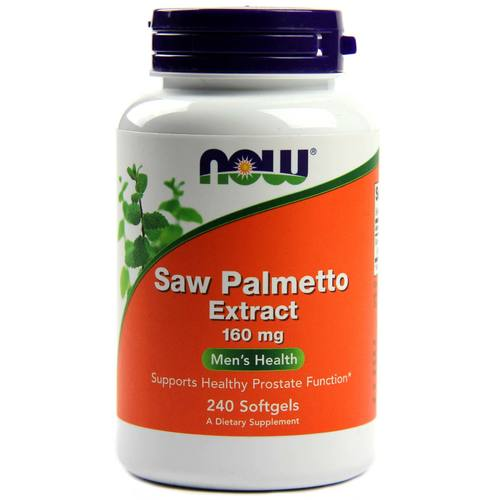 Now Foods Saw Palmetto Double Strength 160 mg  - 240 Softgels - 9284_1.jpg