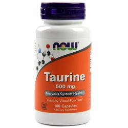 Now Foods Taurine 500 mg