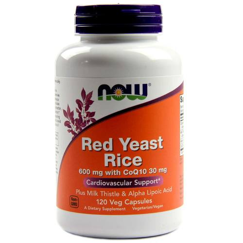 Red Yeast Rice 600 mg with CoQ10
