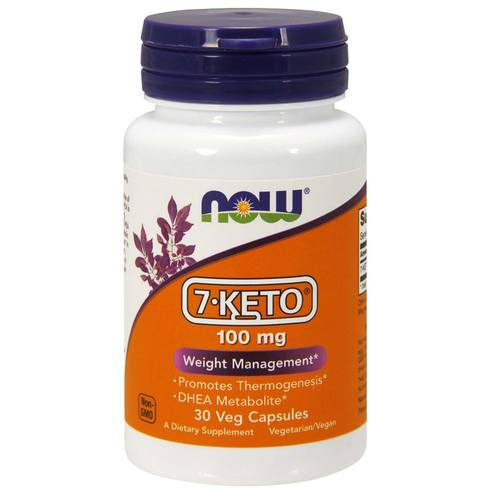 Now Foods 7-Keto 100 mg - 30 Vegetarian Capsules - 9403.jpg