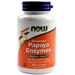 Now Foods Papaya Enzyme Chewable