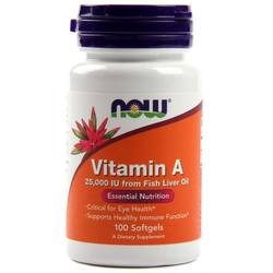 Now Foods Vitamin A