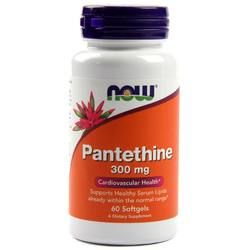 Now Foods Pantethine 300 mg