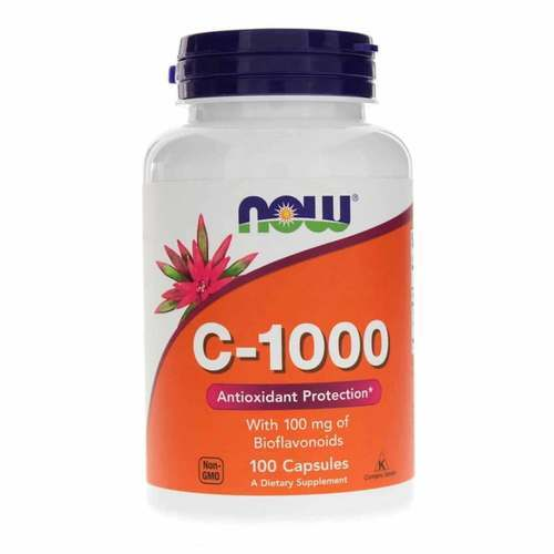 Now Foods C-1000 - 1,000 mg - 100 Capsules - 9545_front2020.jpg