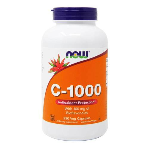 Now Foods C-1000  - 1,000 mg - 250 VCapsules - 9548_front2020.jpg
