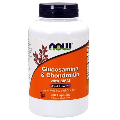 Glucosamine and Chondroitin with MSM